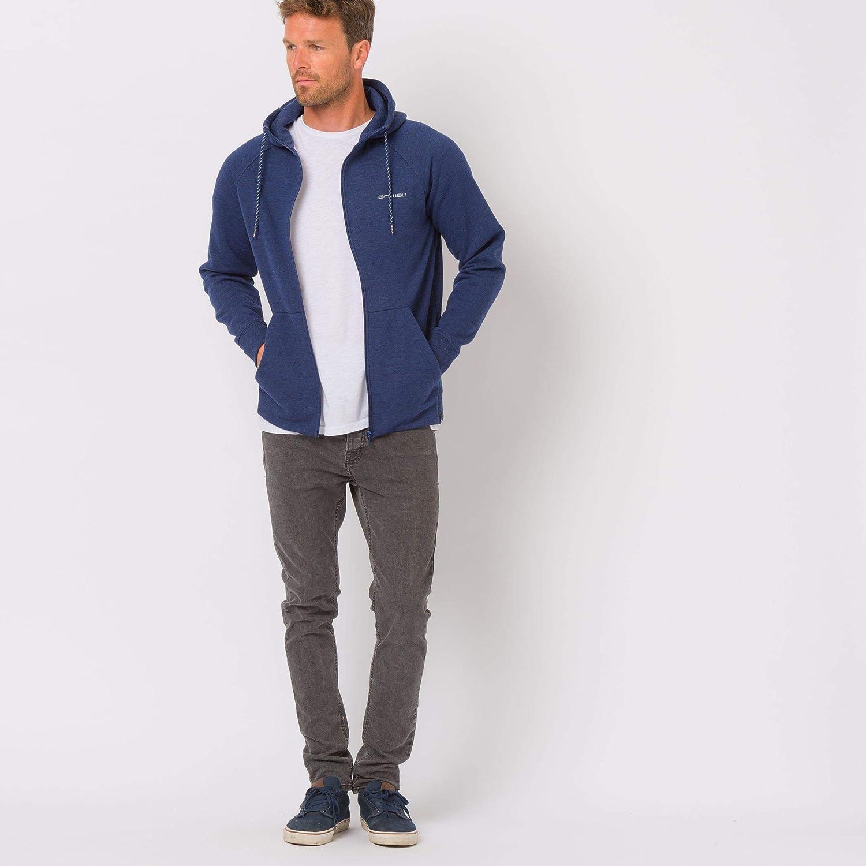 Animal Homme Sweatshirt à Capuche Manches Longues à Capuche entièrement zippé - - Bleu Marine
