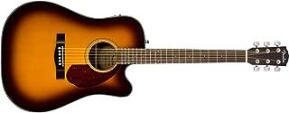 Fender CD-140SCE Dreadnaught Acoustic Guitar - Sunburst