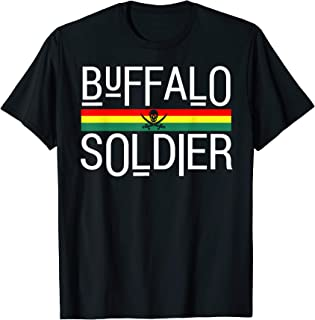 Buffalo Soldier! Rastafarian Culture T-Shirt