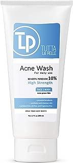 Benzoyl Peroxide Wash 10% - Acne Treatment Face Wash & Body Wash - Butt & Back Acne Treatment 6.7 oz