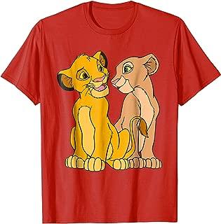 The Lion King Young Simba and Nala Together T-Shirt