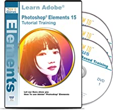Adobe Photoshop Elements 15 Training on 3 DVDs, 16 Hours Software Tutorials with Easy to Follow Videos plus Tips and Tricks from How To Gurus