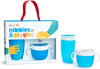 Munchkin Munchkin Nibbles & Giggles Toddler Gift Set, Blue , Set of 1