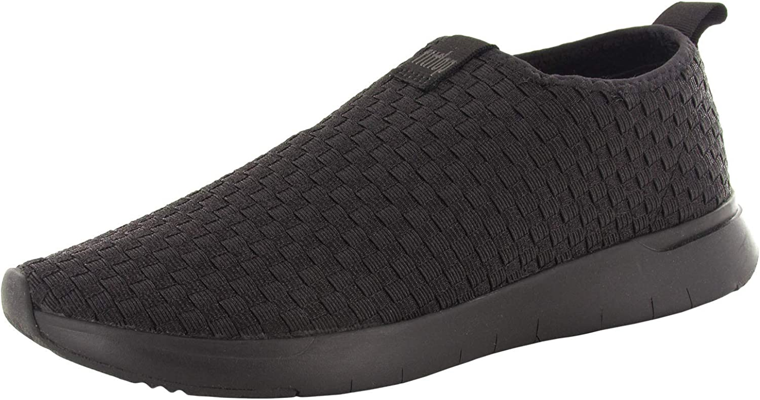 Complete Free Shipping FitFlop Albuquerque Mall Womens Stripknit Slip On Shoes Sneaker