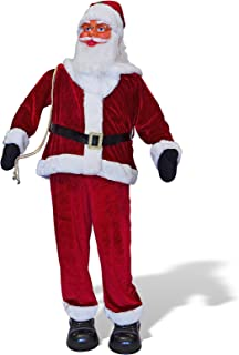 BenefitUSA 6' Animated Singing Dancing Santa Claus Christmas Decoration