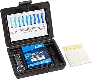 CHEMetrics K-7512 Dissolved Oxygen Kit, 1-12 ppm Range, 1 ppm MDL