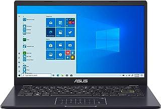 "ASUS E410 14.0"" HD (1366x768) LED Anti-Glare Laptop, Intel Celeron N4020, 4GB DDR4, 128GB eMMC, WiFi, HDMI, NumberPad, Med..."