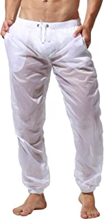 Color Transparente Secado r/ápido Lantra Besa CM0022 para Deportes acu/áticos en Verano Pantalones Cortos de Playa con Forro de Malla para Hombre