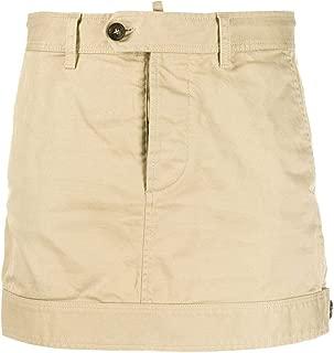 DSQUARED2 Luxury Fashion Womens S75MA0713S39021111 Beige Skirt |