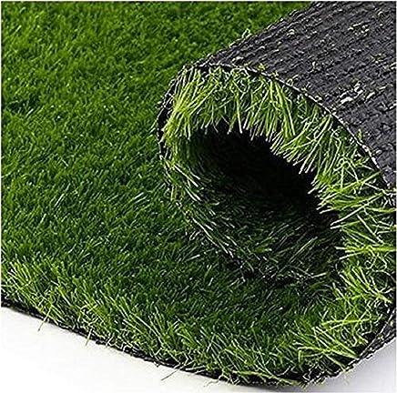 Kuber Industries High Density Artificial Grass Carpet Mat (4 x 10 ft, Green, GrassCT136)