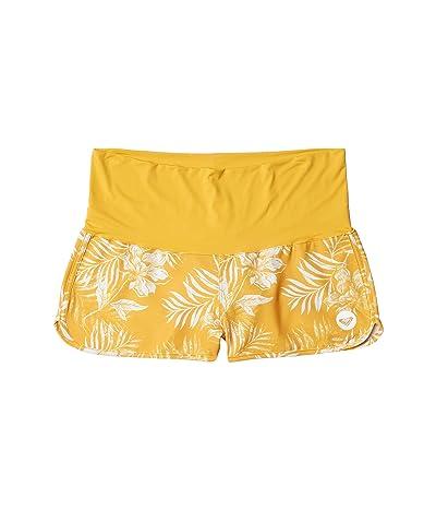 Roxy Endless Summer Print Boardshorts (Mineral Yellow) Women
