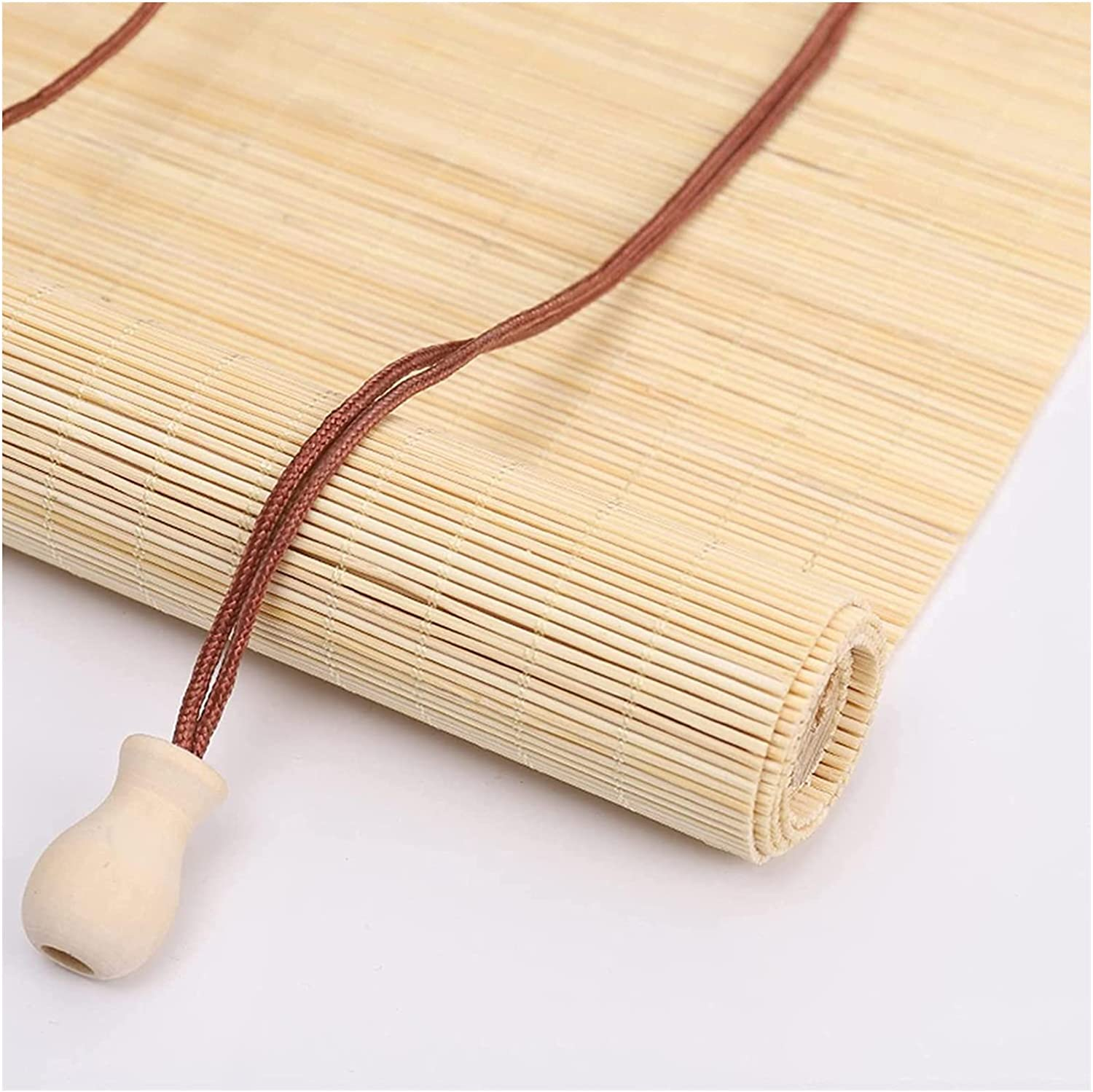 Bamboo Blinds for 70% OFF Outlet Windows Thin Roller U Roll Cheap sale Blind Retro