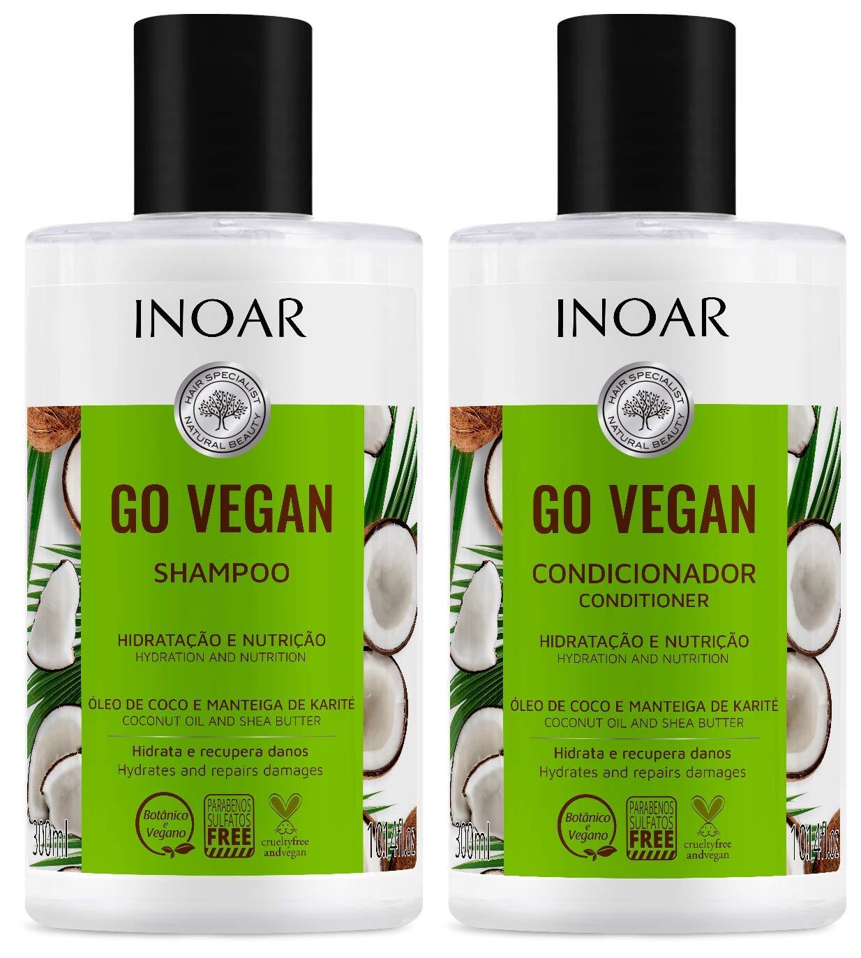 Topics on TV INOAR PROFESSIONAL - Go Vegan Shamp Hair and 1 year warranty Hydration Nutrition