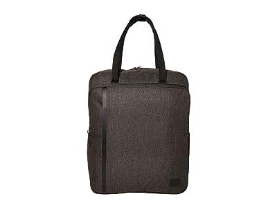 Herschel Supply Co. Travel Tote (Black Crosshatch) Tote Handbags