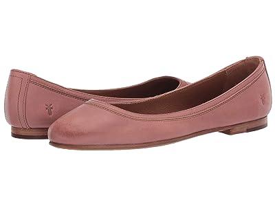 Frye Carson Ballet (Pale Blush Sun-Washed Leather) Women