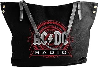Fashion ACDC Shoulder Bag Canvas Handbags Tote Bag