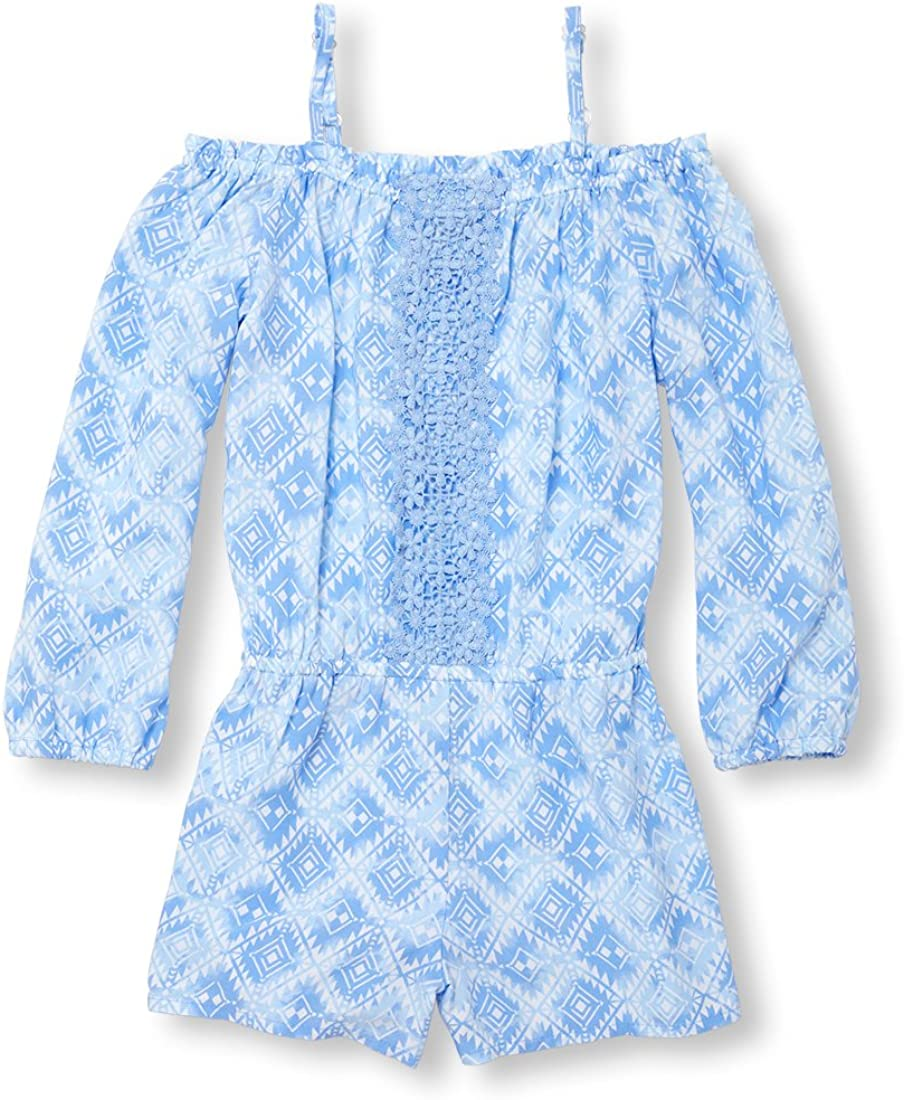 The Childrens Place Girls Long Sleeve Romper