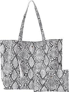 Voberry Damen Handtaschen Elegante große Lederhandtasche Schultertaschen Damentasche Weich Umhängetasche Damenumhängetasch...