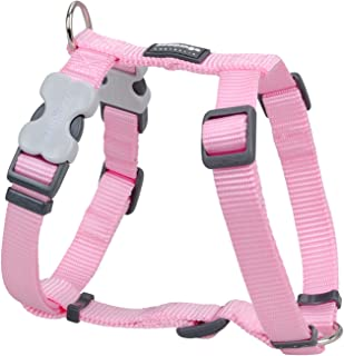 Red Dingo Classic Dog Harness, Large, Pink