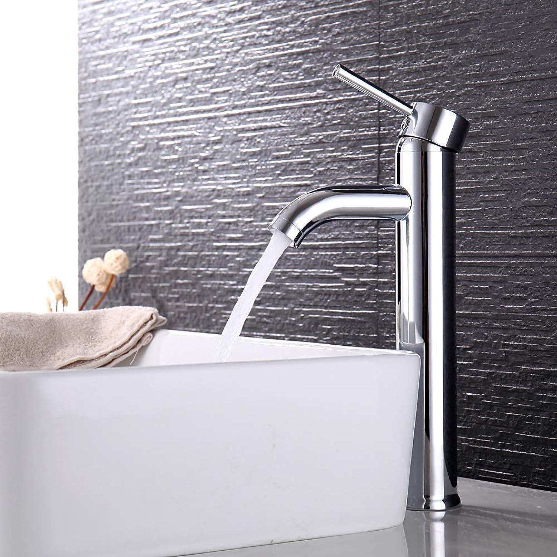 Oevina Faucet Bathroom Single Mono Sink Mixer Tall
