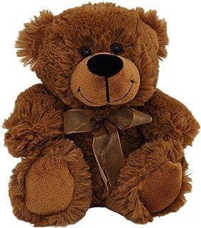 Elka Australia 76201-18LBN Jelly Teddy Bear Soft Plush Toy, Brown, 18 Centimeters