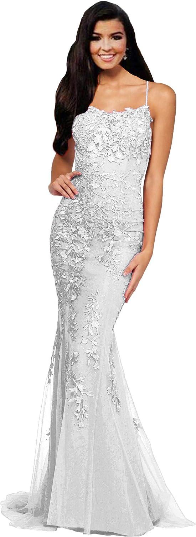 Tsbridal Beaded Mermaid Prom Dresses Sleeveless Evening Formal P Max 72% OFF Indianapolis Mall