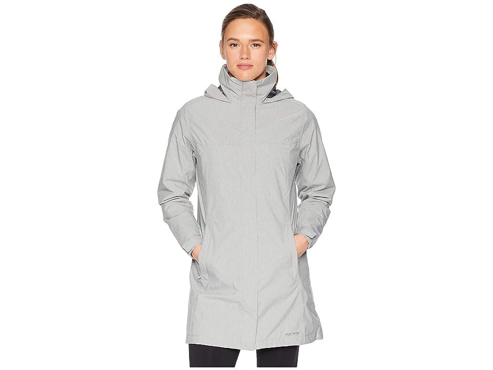 Helly Hansen Aden Insulated Coat (Grey Melange) Girl
