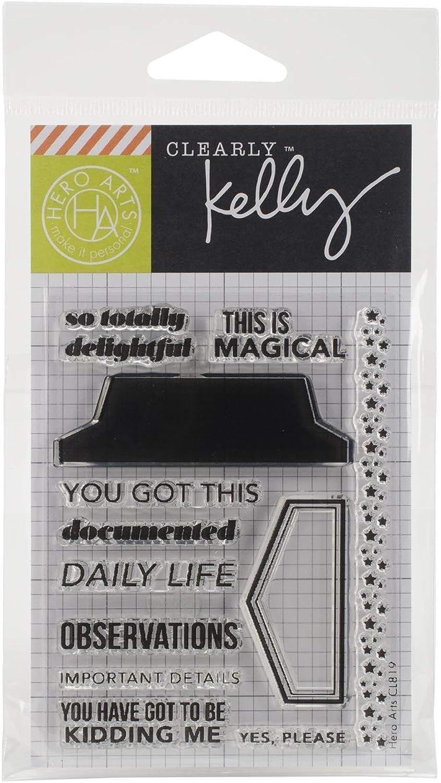 Unbekannt Hero Arts Arts Arts Photo-Polymer Kelly PURKEY Clear Stamps 3 Zoll x 4-inch-Daily Life B00UB7CTYC | Lass unsere Waren in die Welt gehen  5817bf