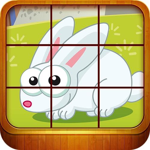 Tierpuzzle Spiele für Kinder