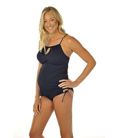 Prego Maternity Wear Two- Piece Bumpkini (Black) Women