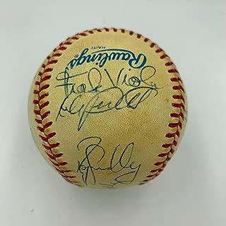 1987 Minnesota Twins World Series Champs Team Signed Baseball Puckett - PSA/DNA Certified - Autographed Baseballs
