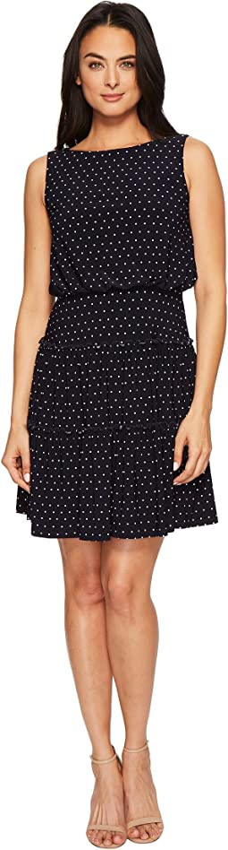 LAUREN Ralph Lauren Opalina Bruni Dot Matte Jersey Dress