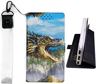 Lovewlb Case for Grid Communications (Sg) Gs6100 Cover Flip PU Leather + Silicone case Fixed L
