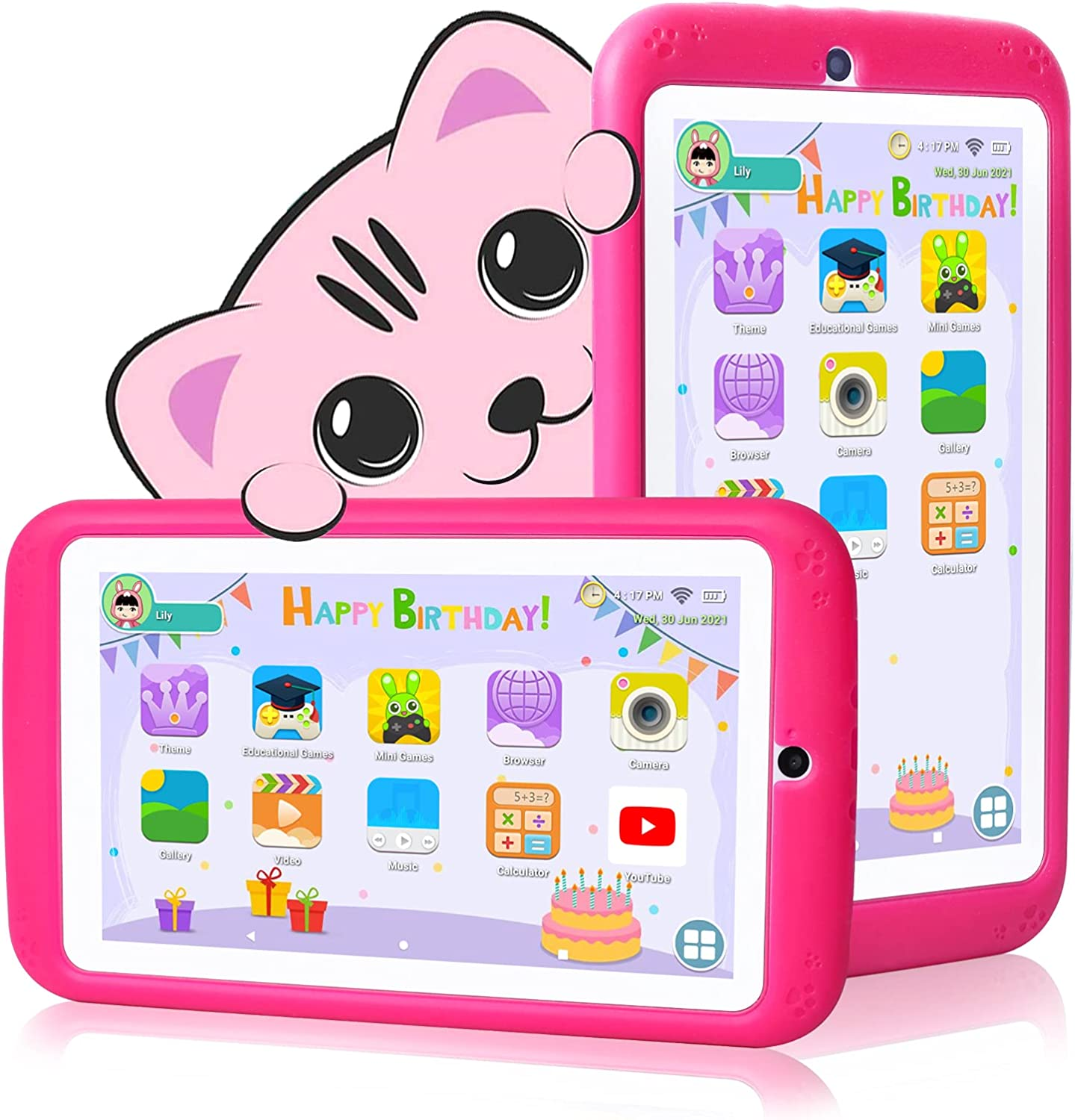 Kids Tablet 7 inch Android Japan's largest assortment 10.0 Case - Qu with for Ranking TOP15