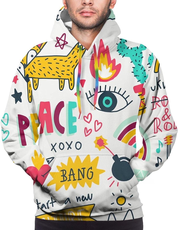 Hoodie For Teens Boys Girls Fox Start A New Adventure 3d Printed Hooded Sweatshirt