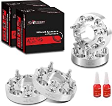 RICHEER Wheel Spacers 5X114.3mm for Nissan 350Z 370Z 300Zx 240Sx Infiniti G35 G37,Forged spacers 1 inch 12x1.25 Studs&66.1mm Center Bore. (Nissan Infiniti Spacer)