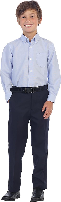 Gioberti Boys Flat Front Dress Pants
