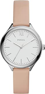 Women's Suitor Metal and Leather Dress Quartz Watch