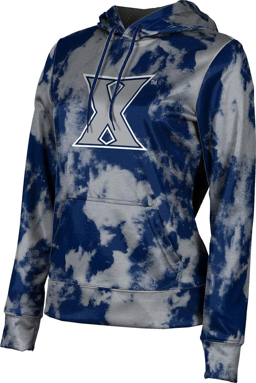 ProSphere Xavier University Girls' Pullover Hoodie, School Spirit Sweatshirt (Grunge)