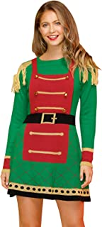 Womens Christmas Cable Knit Ugly Sweater