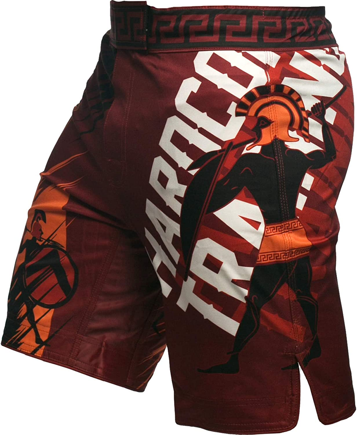 Hardcore Training Sparta Red Fight Comba Boxing Shorts Special price Regular discount Men's MMA