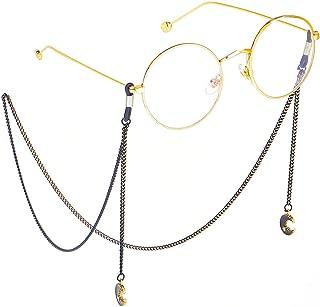 POYDORA Eyeglass Chains With Pendant for Women Glasses Reading Glasses Cords Glasses Holder Strap Lanyards Eyewear Retainer