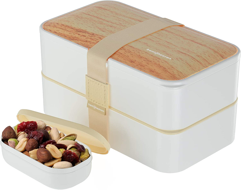 Premium Bento Lunch Sacramento Mall Box in 8 Modern Challenge the lowest price - Compartments Colors 2 Lea
