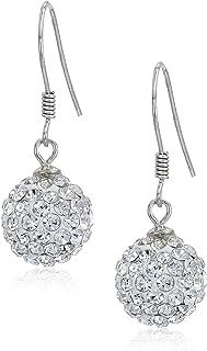 Best silver dangle ball earrings Reviews