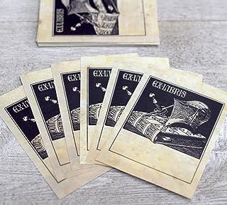Set of 24 Self-Adhesive Labels Madrigal Singers Ex Libris Book Plates