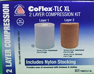 Wound Compression System Bandages ( DRESSING, COMPRESSION SYS, COFLEX, 2 LAYER ) 1 Each / Each