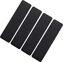 Hemobllo 4Pcs Anti Slip Tape (23.97 x 5.89inch) Non Slip Safety Grip Tape Strong Traction Friction Abrasive Adhesive for S...