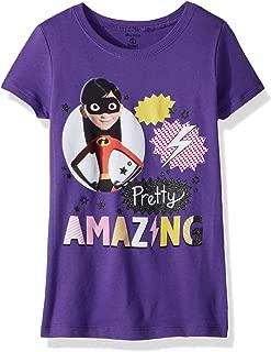 Disney Girls' The Incredibles 2 Violet Pretty Amazing Short Sleeve T-Shirt
