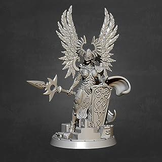 Risjc 60 mm sci-fi-tema forntida fantasy kvinnlig krigare harts modellkit omonterad och omålad soldatkomponent — 93RJ17