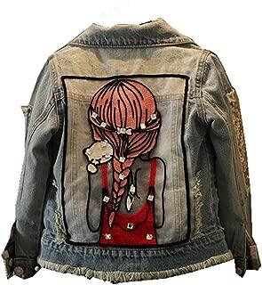 Little Big Girls Denim Jackets Coats Outwear